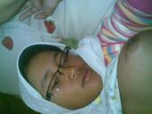 Awek Bertudung Isap Kotey melayu bogel.com
